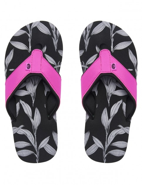 Animal Swish Aop Flip Flops in Filanium Grey