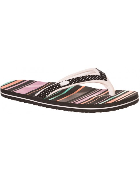 Animal Swish Slim Upper Aop Flip Flops in Multicolour