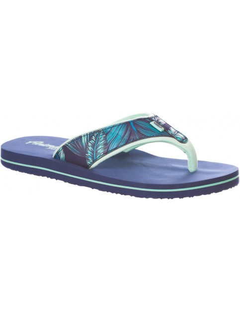 Animal Swish Upper Aop Flip Flops in Sailor Blue