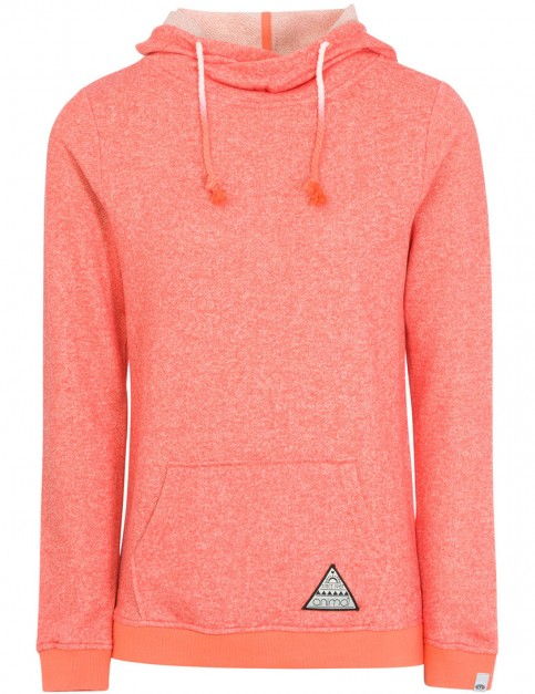Animal Tahitian Swirl Pullover Hoody in Summer Pink Marl