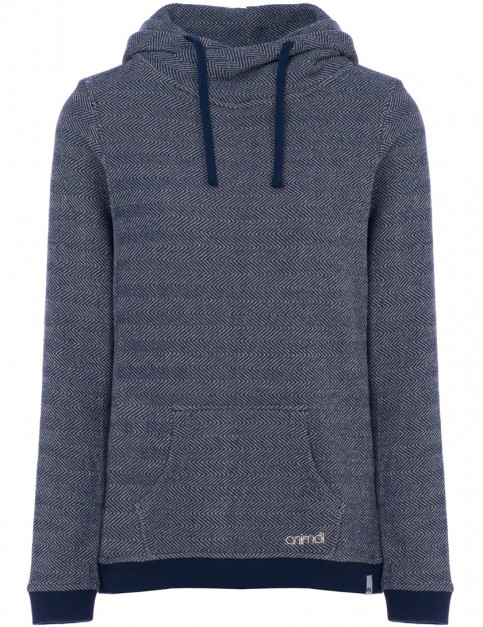 Animal Tahitian Swirl Pullover Hoody in Dark Navy