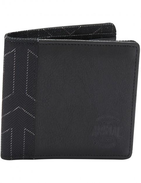 Animal Tantrum Polyester Wallet in Black