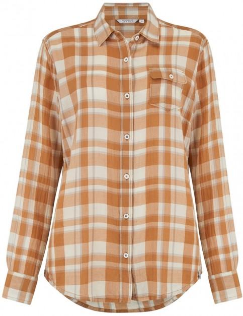 Animal Thali Long Sleeve Shirt in Toffee Apple Brown