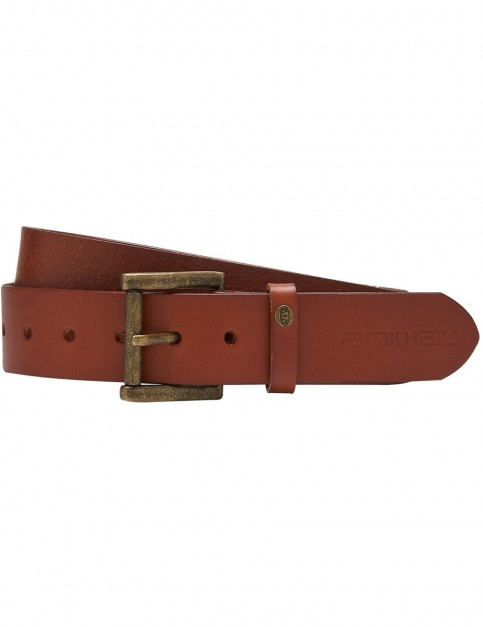 Animal Tiaa Leather Belt in Tan
