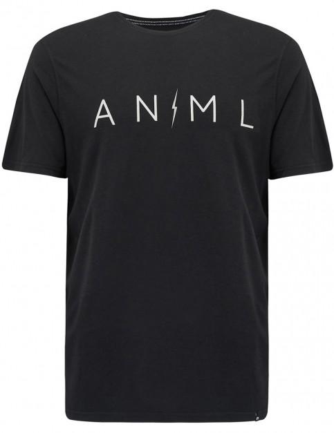 Animal Trait Short Sleeve T-Shirt in Black
