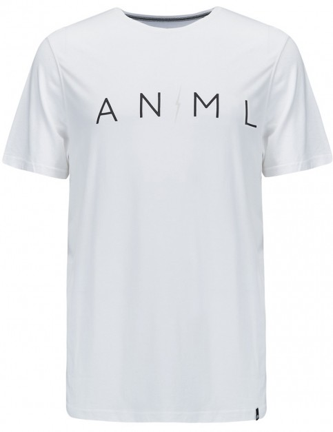 Animal Trait Short Sleeve T-Shirt in White