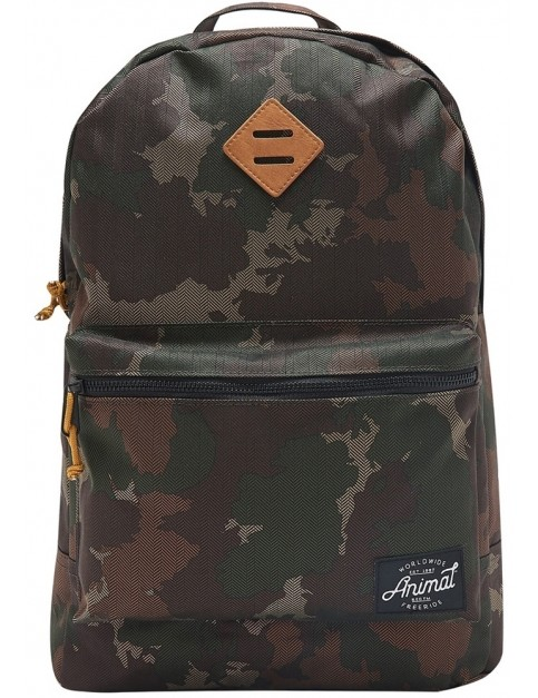 Animal Traitor Backpack in Camo Green