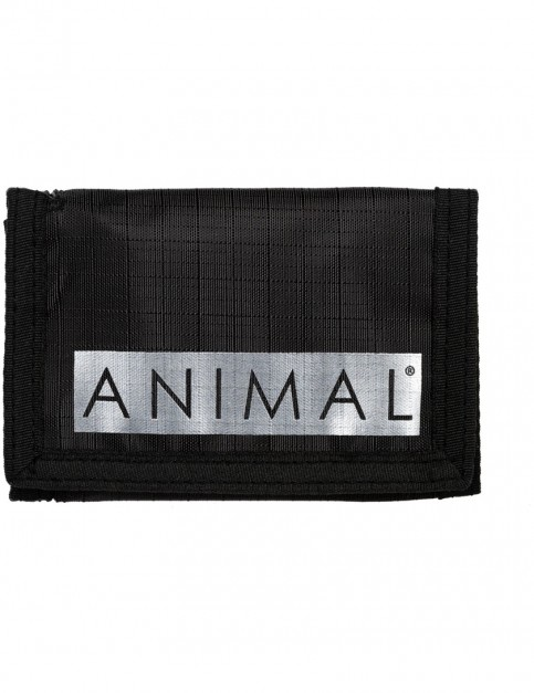 Animal Vexation Polyester Wallet in Black