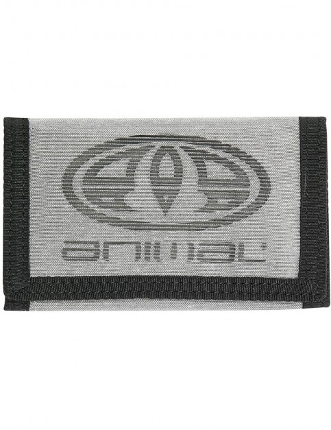 Animal Vexation Polyester Wallet in Grey