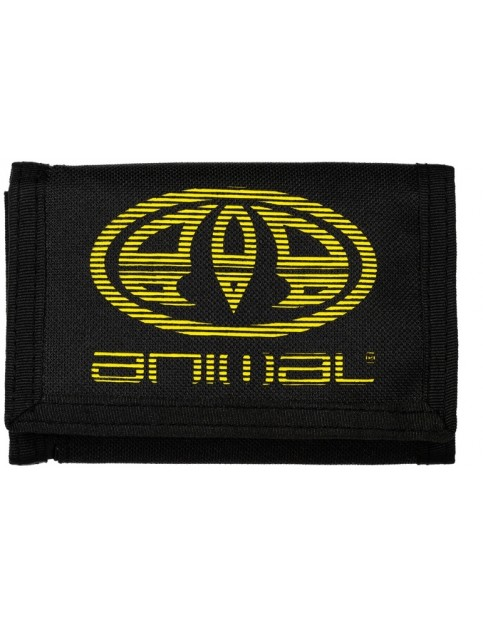 Animal Vexed Polyester Wallet in Black
