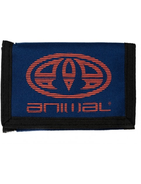 Animal Vexed Polyester Wallet in Deepest Blue