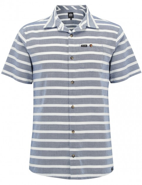 Animal Victor Short Sleeve Shirt in Lakewood Blue