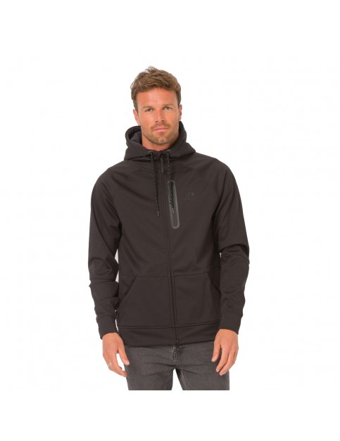 Animal Visser Full Zip Fleece in Black