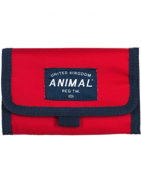Animal Wile Polyester Wallet in Mars Red