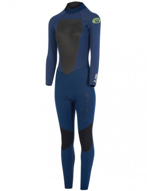Animal Womens Lava Wetsuit in Dark Navy