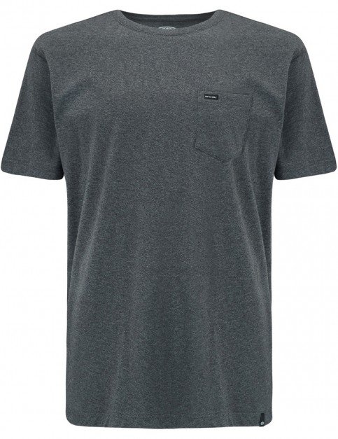 Animal Young Short Sleeve T-Shirt in Dark Charcoal Marl