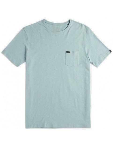 Animal Young Slub Short Sleeve T-Shirt in Blue Mist