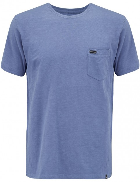 Animal Young Slub Short Sleeve T-Shirt in Lakewood Blue