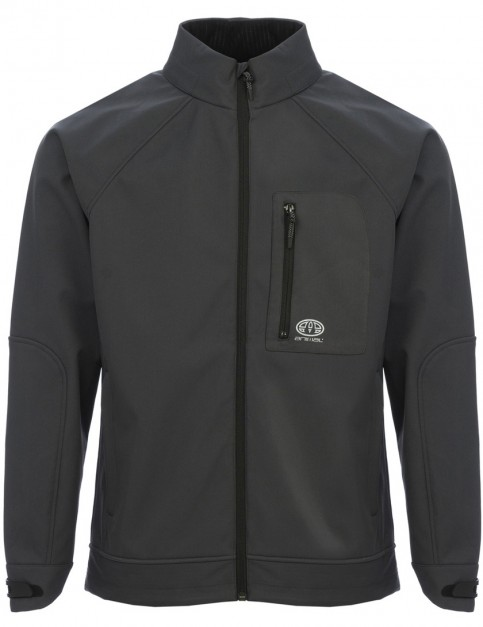 Animal Yukon Softshell Jacket in Asphalt Grey