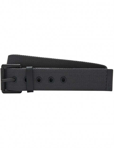Animal Zeus Webbing Belt in Asphalt Grey