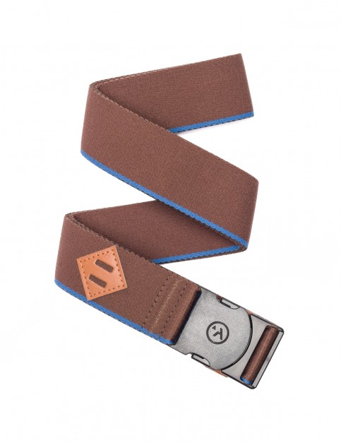 Arcade Blackwood Webbing Belt in Brown/Polar Blue