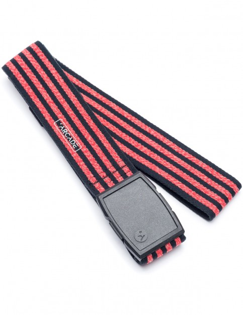 Arcade Don Carlos Webbing Belt in Black/Red