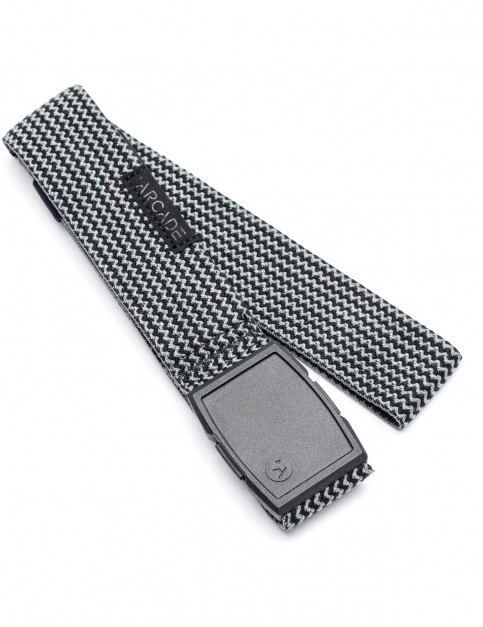 Arcade Edmond Webbing Belt in Black/Grey