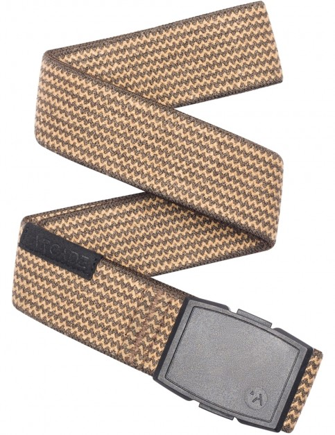 Arcade Edmond Webbing Belt in Brown/Caramel