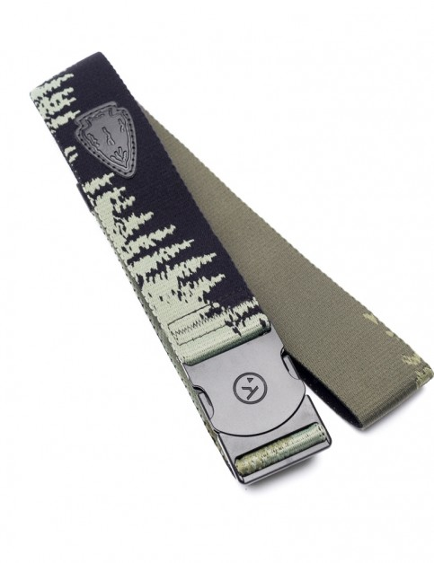 Arcade El Dorado Webbing Belt in Green