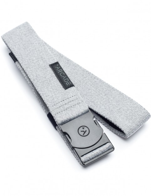 Arcade Foundation Webbing Belt in Heather Grey