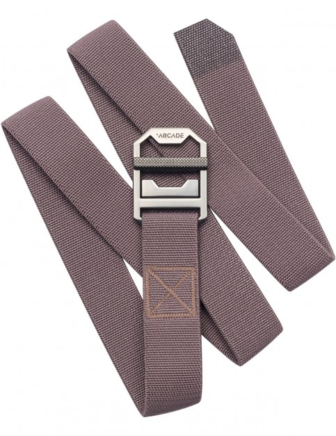 Arcade Guide Slim Webbing Belt in Purple