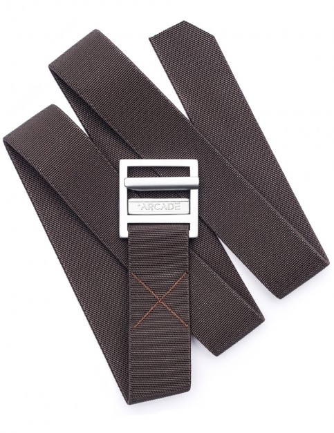 Arcade Guide Webbing Belt in Brown