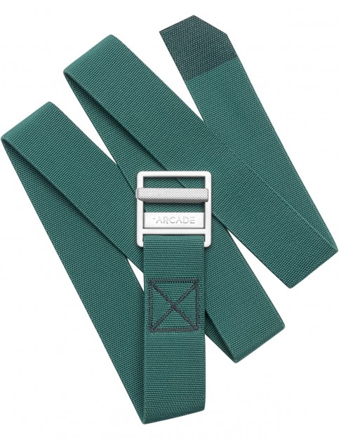 Arcade Guide Webbing Belt in Dorado Green