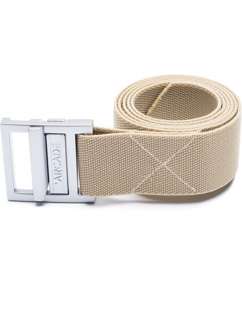 Arcade Guide Webbing Belt in Khaki