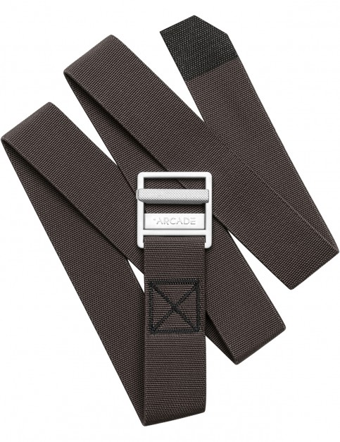 Arcade Guide Webbing Belt in Medium Brown
