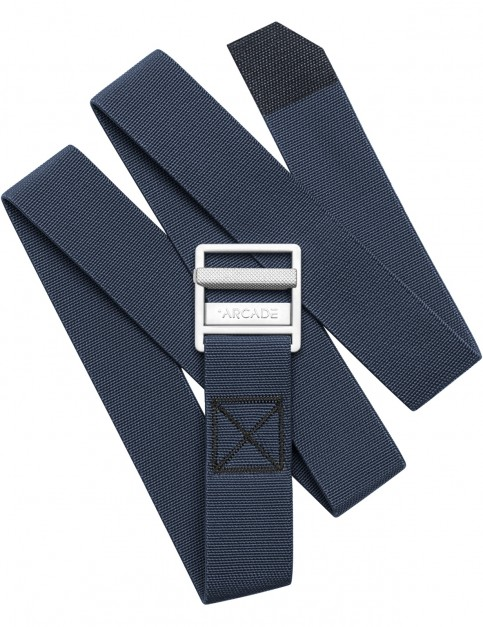 Arcade Guide Webbing Belt in Moon Blue