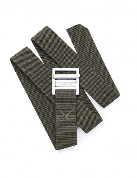Arcade Guide Webbing Belt in Olive Green