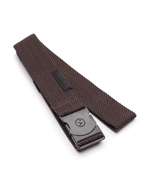 Arcade Hemingway Webbing Belt in Black/Brown