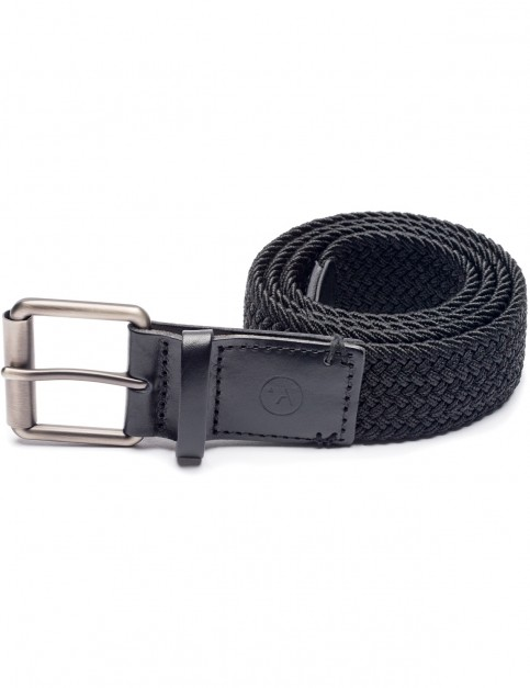 Arcade Hudson Webbing Belt in Black