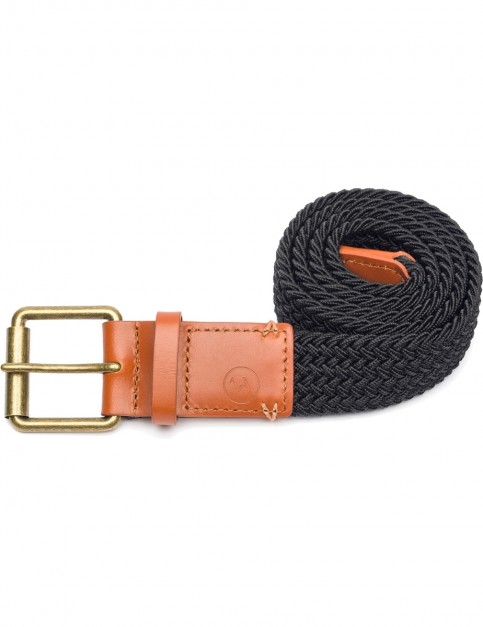 Arcade Hudson Webbing Belt in Black/Brown