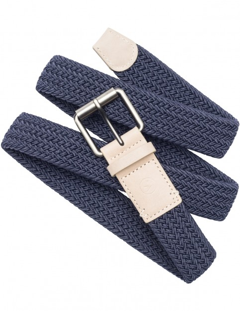 Arcade Hudson Webbing Belt in Moon Blue