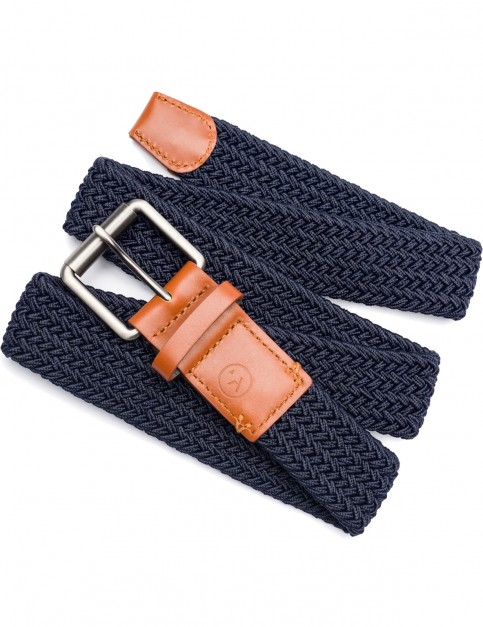 Arcade Hudson Webbing Belt in Navy