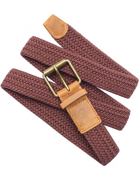 Arcade Hudson Webbing Belt in Prune