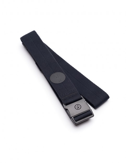 Arcade Midnighter Slim Webbing Belt in Black