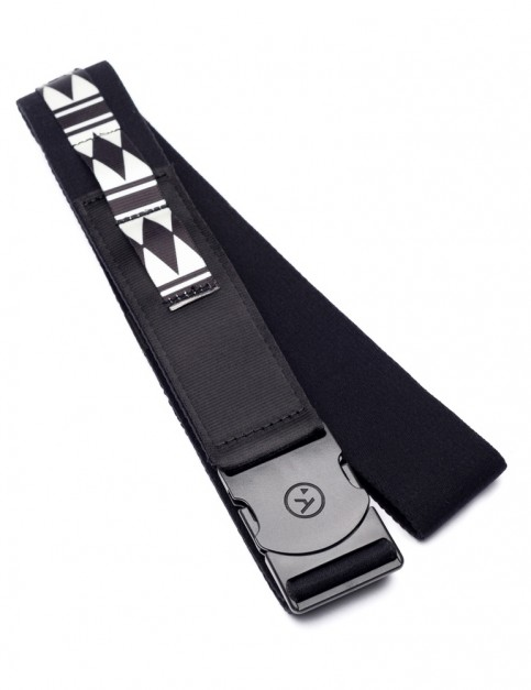 Arcade Nomad Webbing Belt in Black/White