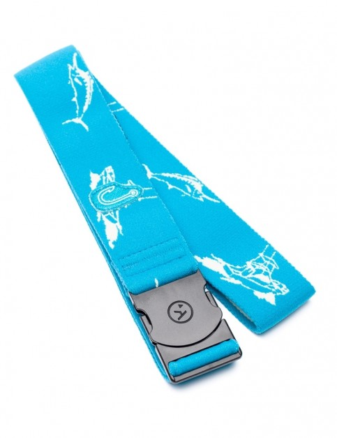 Arcade Outboard Webbing Belt in Blue/White