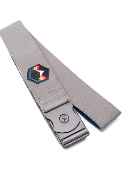 Arcade Rambler Horizon Webbing Belt in Grey/Rainbow
