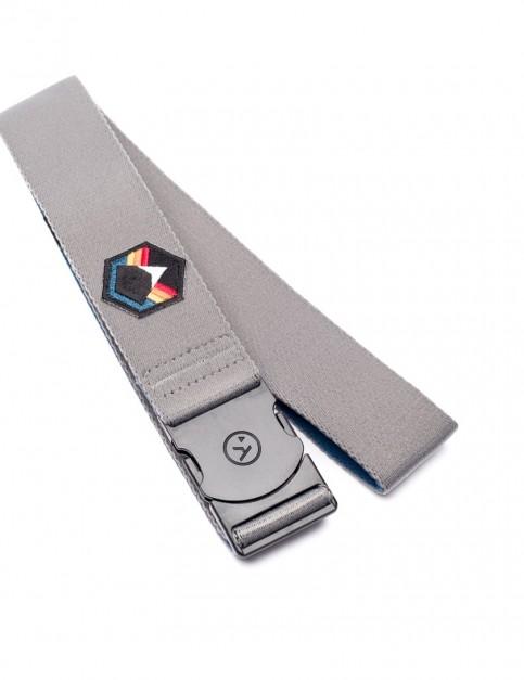 Arcade Rambler Horizon Webbing Belt in Grey/Rainbow