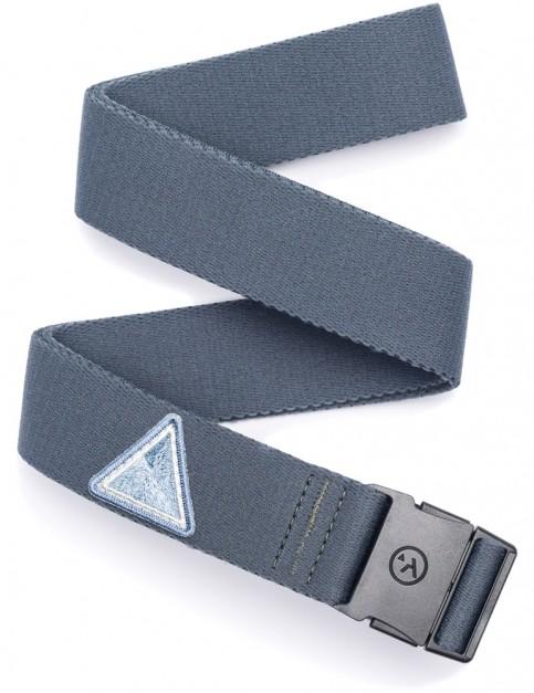 Arcade Rambler Slim Webbing Belt in Grey/Silver