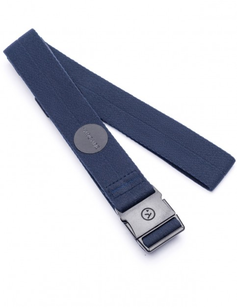 Arcade Ranger Slim Webbing Belt in Navy